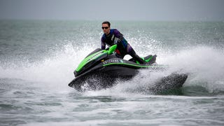 Kawasaki's 310-Horsepower Jet Ski Is Pure