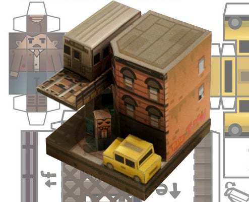 The Inevitable, Adorable GTA IV Papercraft
