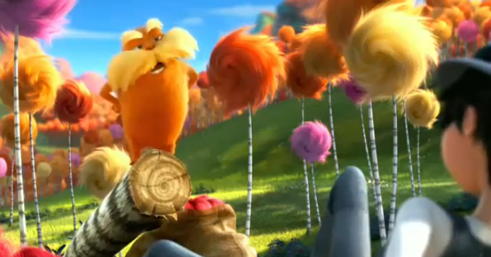 The Lorax: It's Not Easy Being Green