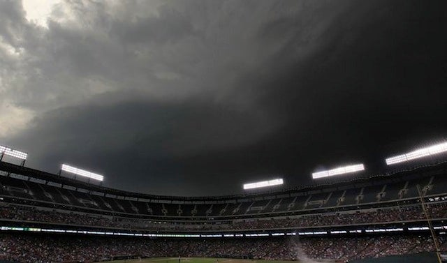 Rangers Ballpark Almost Got Swept Away By Tornadoes Last Night