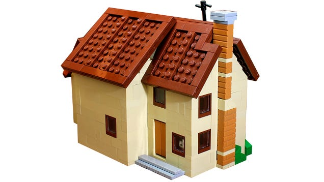 Save Yourself a Couple Hundred Bucks With a Mini Lego Simpsons House