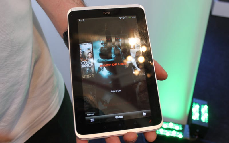 HTC Flyer Hands-On Gallery