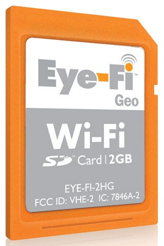 Buy 200GB of Google Storage, Get a Free Eye-Fi Card