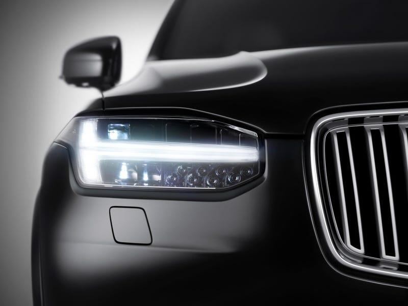 The 2015 Volvo XC90 Headlights Look Like Thor's Hammer