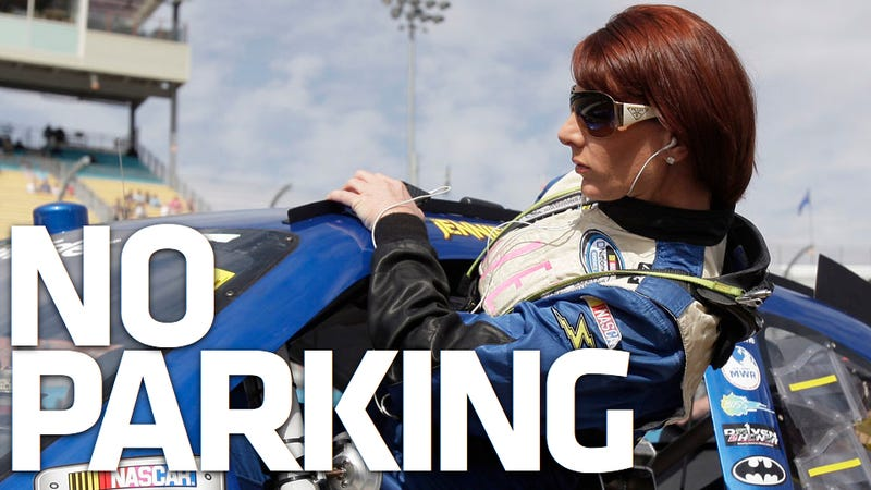 How Nascar's Jennifer Jo Cobb quit a race and won