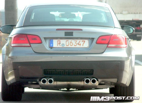 Spy Photos: BMW M3 Convertible