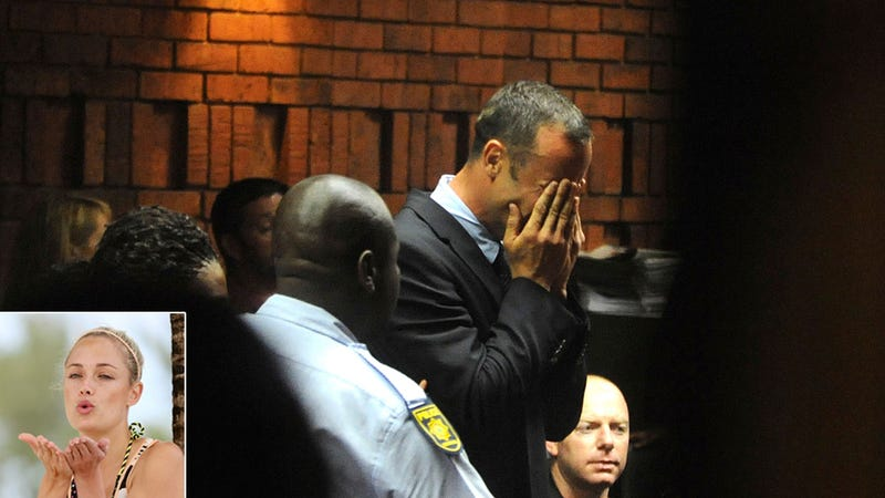 Pistorius May Have 'Crushed' Girlfriend's Head With Cricket Bat Over Text from Rugby Rival