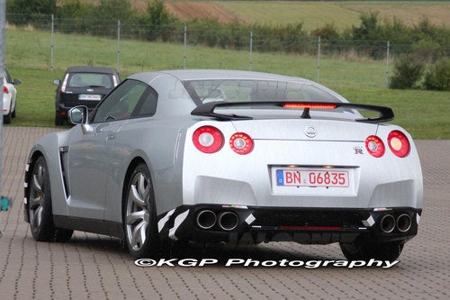 Nissan GT-R SpecM: Spy Photos