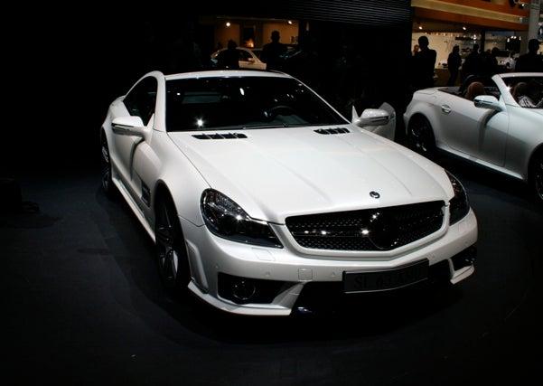 Mercedes AMG SL63 Debuts in Geneva