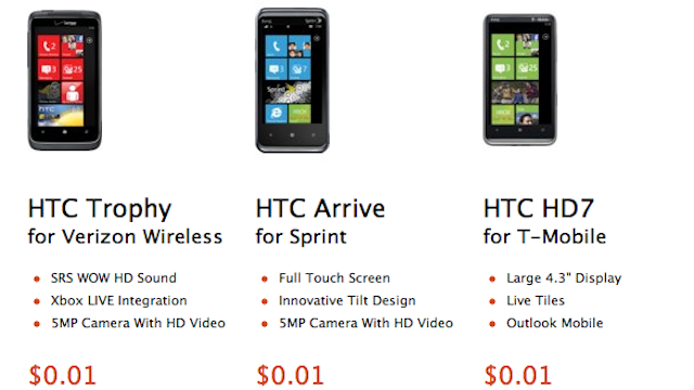 Microsoft Selling Some Windows Phones for 1 Cent