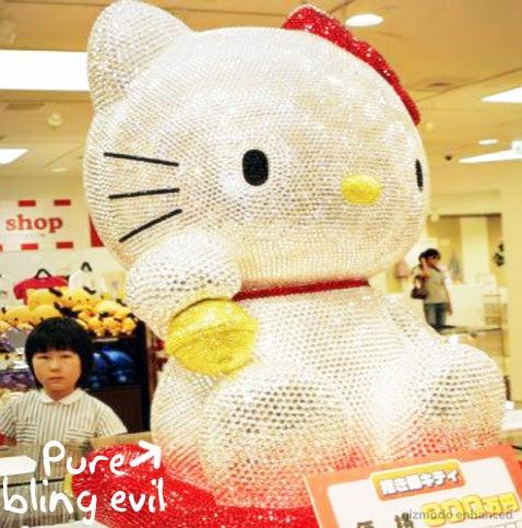 Hello Kitty Swarovski Maneki Neto Doll is Yours for $66,000