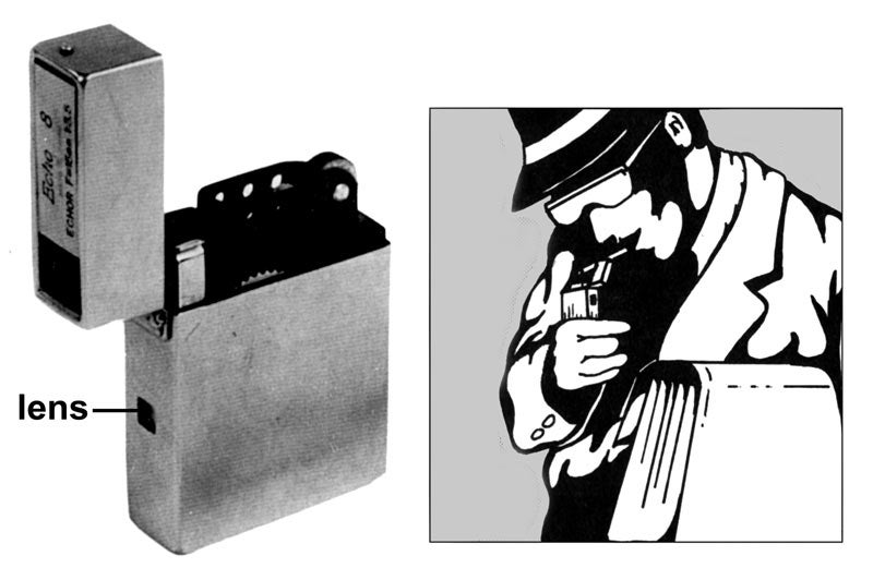 A Gallery of CIA Spy Cameras