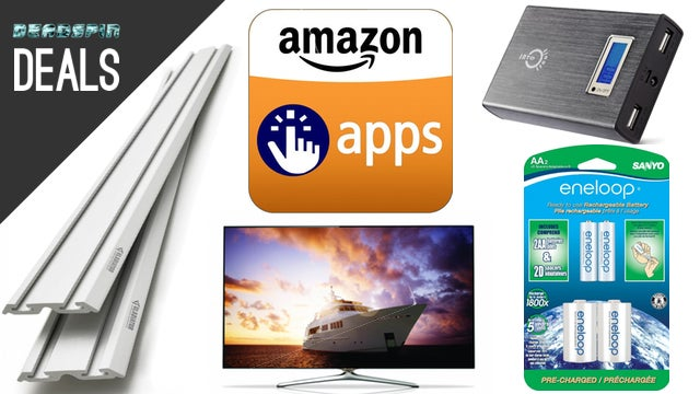"Deals: The Best Rechargeable Batteries, Tons of Free Apps, 55"" Samsung"
