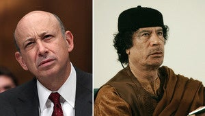 Goldman Sachs Once Lost $1.3 Billion of Muammar Qaddafi's Stash