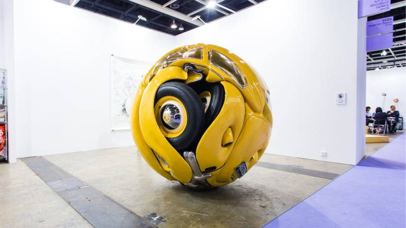 The Beetle Sphere Is The Natural Conclusion Of The VW Beetle