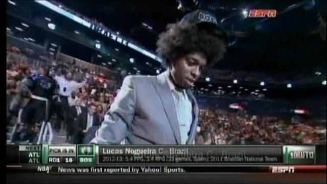 Lucas Nogueira's Hair Is Fantastic
