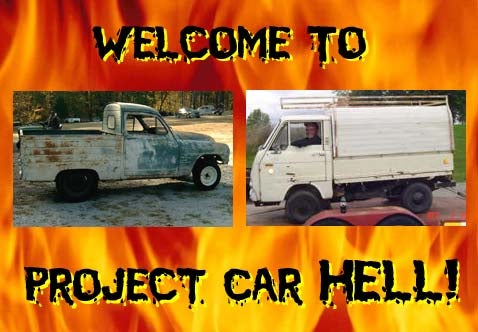 Project Car Hell, Tiny Truck Edition: Simcamino or Cony?