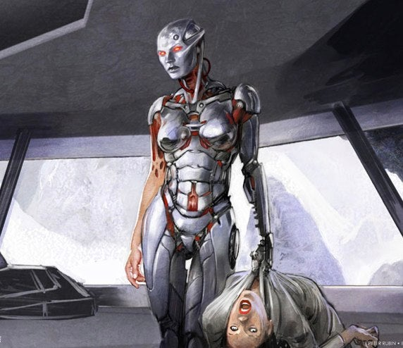 First concept art from Battlestar Galactica's next prequel series, Blood and Chrome