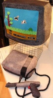 Hand-Sewn Nintendo Entertainment System