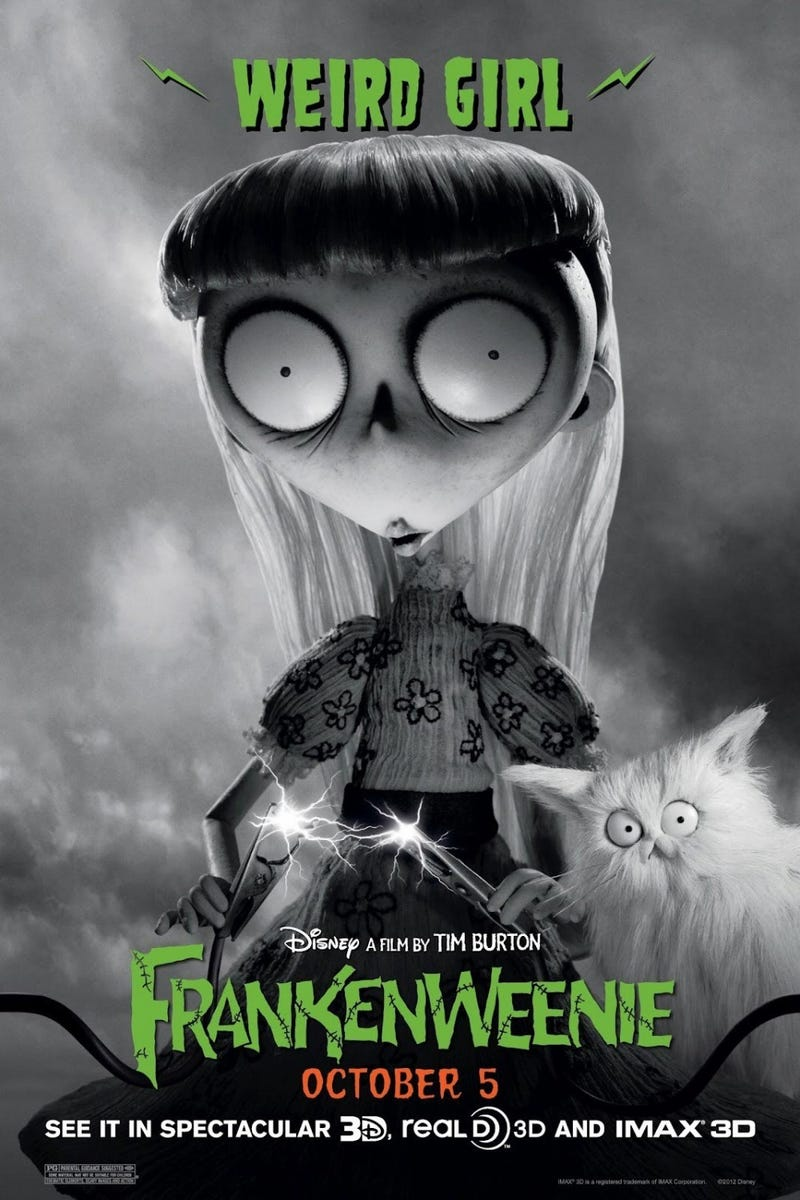 New Frankenweenie Posters