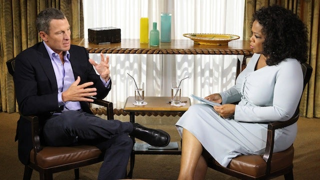 "Lance Armstrong Admits To Doping, Being An ""Arrogant Prick"" In Interview With Oprah"