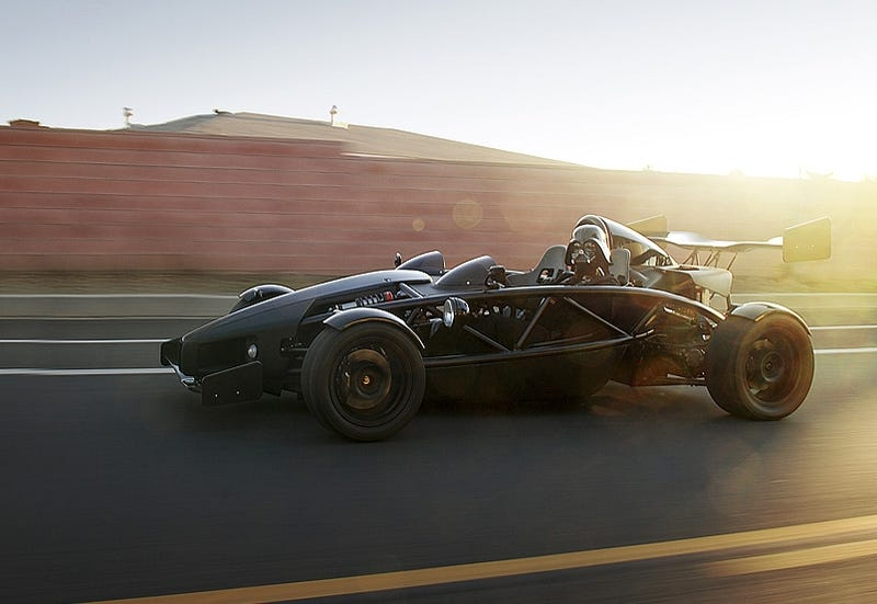 Darth Vader Trades In Star Destroyer For Ariel Atom