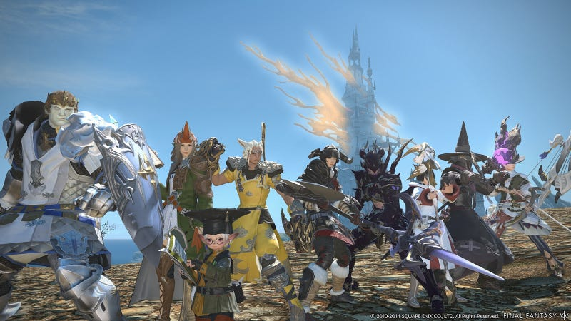 Final Fantasy XIV PS4 Beta Begins February 22. See How Pretty It Is.
