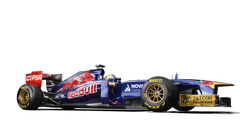 Red Bull's Other F1 Team Has An All New Ride