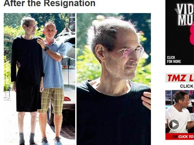 Steve Jobs Is Not Well
