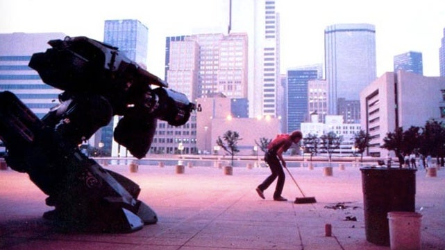 Behind-the-scenes RoboCop photos show off the goofier side of dystopian Detroit