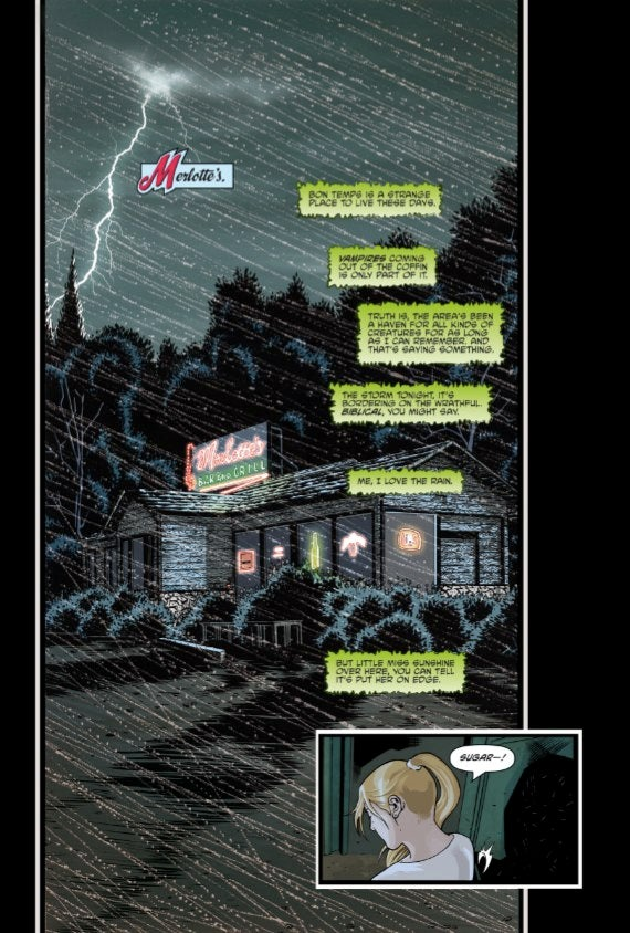 First Six Pages Of The True Blood Comic Are Just As Dirty As The Show
