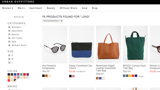 Urban Outfitters Sure Does Sell a Lot of Products With Toxic Lead