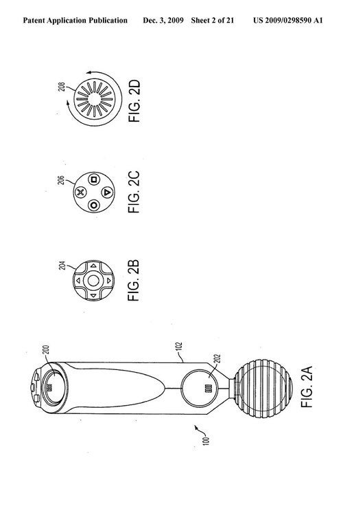 Sony Motion Controller Patent