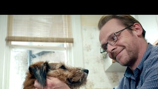 Robin Williams Voices Simon Pegg's Dog In 1st <i>Absolutely Anything </i>Clip