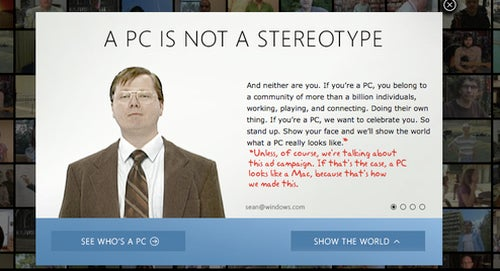 Microsoft 'I'm a PC' Ads Were Created Using a Mac