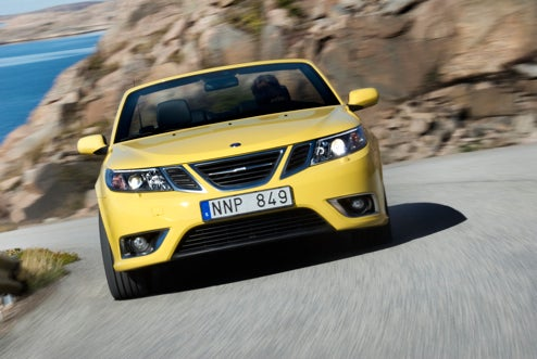 2008 Saab 9-3 Convertible Yellow Edition: Saab Builds Another Wasp-Looking Drop-Top