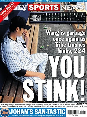 Yankees Blowout: Can't You Smell That Smell?