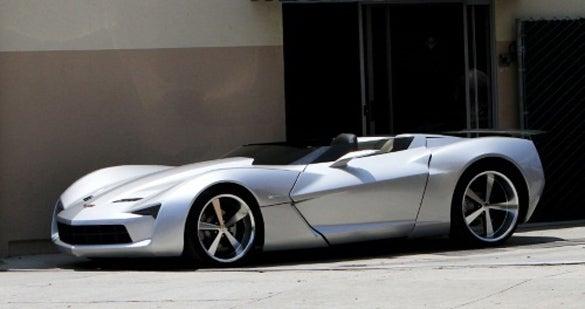 Corvette Stingray Concept Goes Convertible