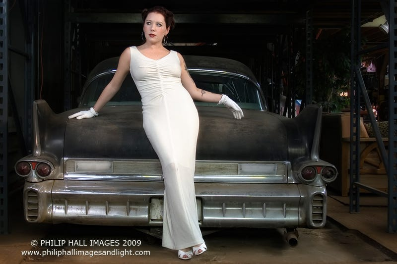 Girls With Cars: Photographs By Phillip Hall