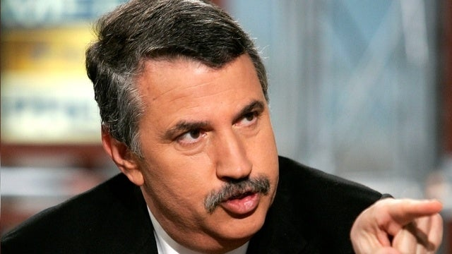 Tom Friedman Travels the World to Find Incredibly Uninteresting Platitudes