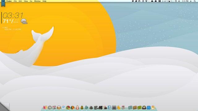 The Simple Sea Desktop