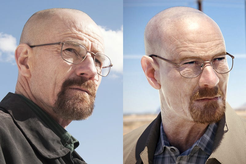 Can you tell which Walter White is real in these Breaking Bad photos?