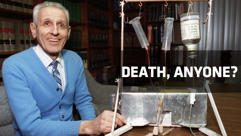 How I spent part of my life chasing Jack Kevorkian