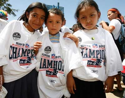Finally, You Know What Those Sad And Poor Kids In Mock Title Shirts Look Like: Sad, And Poor.