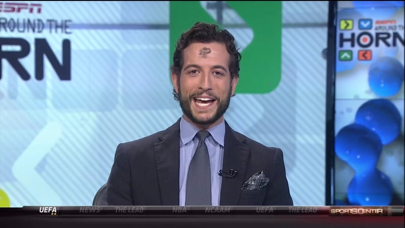 Around The Horn Viewers Continue To Be Mystified By Ash Wednesday