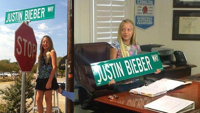 Tyrant Child Mayor Changes 'Main Street' to 'Justin Bieber Way'