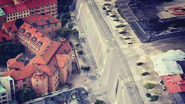 More Apple Maps glitches depict a disturbing, surreal world