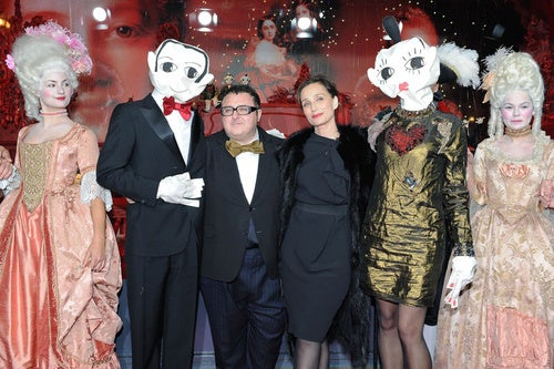 Alber Elbaz & Kristin Scott Thomas Have Some Very Dramatic Friends