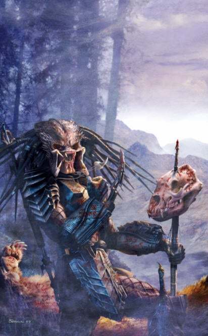 Drool Over Our Alien and Predator Centerfolds, and Win Free Books!
