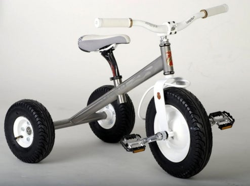 Titanium Tricycle Ensures Trust Fund Babies Break The Bank, Not Their Bike